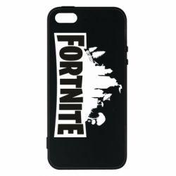 Чохол для iphone 5/5S/SE Fortnite logo