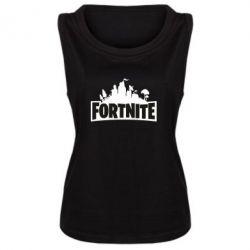 Майка жіноча Fortnite logo