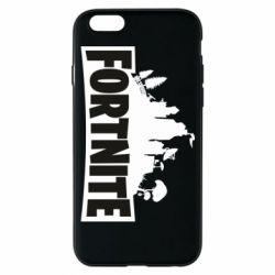 Чохол для iPhone 6/6S Fortnite logo