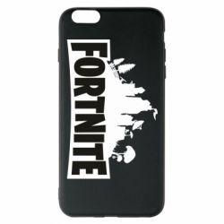 Чохол для iPhone 6 Plus/6S Plus Fortnite logo