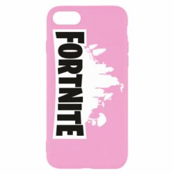 Чохол для iPhone 7 Fortnite logo
