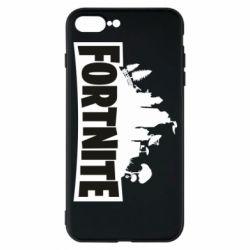 Чохол для iPhone 7 Plus Fortnite logo