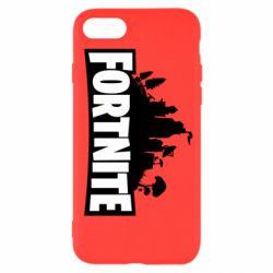 Чохол для iPhone 8 Fortnite logo