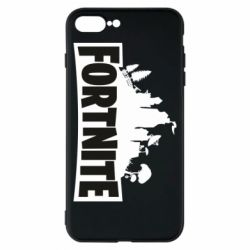 Чохол для iPhone 8 Plus Fortnite logo