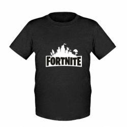 Дитяча футболка Fortnite logo