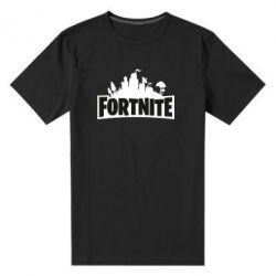 Чоловіча стрейчева футболка Fortnite logo