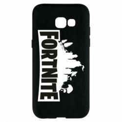 Чохол для Samsung A5 2017 Fortnite logo