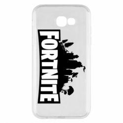 Чохол для Samsung A7 2017 Fortnite logo