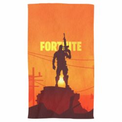 Полотенце Fortnite minimalist silhouettes