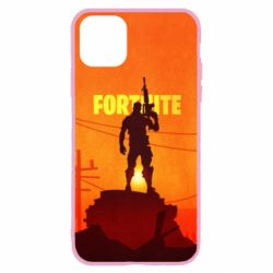 Чехол для iPhone 11 Pro Fortnite minimalist silhouettes
