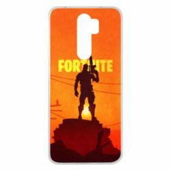 Чехол для Xiaomi Redmi Note 8 Pro Fortnite minimalist silhouettes