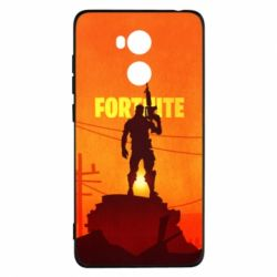 Чехол для Xiaomi Redmi 4 Pro/Prime Fortnite minimalist silhouettes