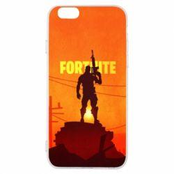 Чехол для iPhone 6/6S Fortnite minimalist silhouettes