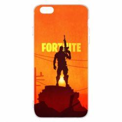 Чехол для iPhone 6 Plus/6S Plus Fortnite minimalist silhouettes
