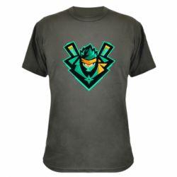 Камуфляжна футболка Fortnite ninja