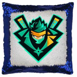 Подушка-хамелеон Fortnite ninja