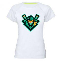 Жіноча спортивна футболка Fortnite ninja