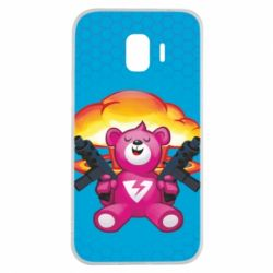 Чехол для Samsung J2 2018 Fortnite pink bear - FatLine