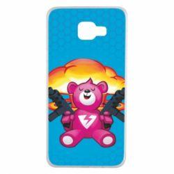 Чехол для Samsung A7 2016 Fortnite pink bear - FatLine