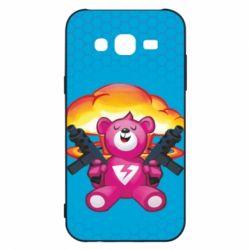 Чехол для Samsung J5 2015 Fortnite pink bear - FatLine