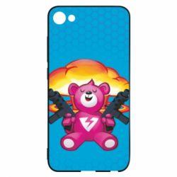 Чехол для Meizu U10 Fortnite pink bear - FatLine
