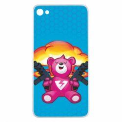 Чехол для Meizu U20 Fortnite pink bear - FatLine