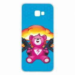 Чехол для Samsung J4 Plus 2018 Fortnite pink bear - FatLine
