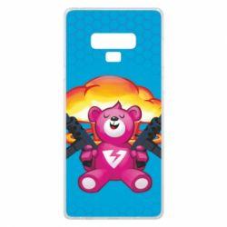 Чехол для Samsung Note 9 Fortnite pink bear - FatLine