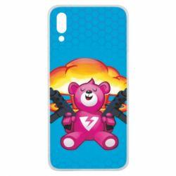 Чехол для Meizu E3 Fortnite pink bear - FatLine