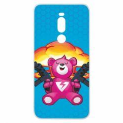 Чехол для Meizu Note 8 Fortnite pink bear - FatLine