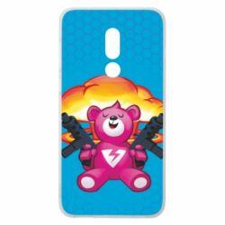 Чехол для Meizu V8 Fortnite pink bear - FatLine