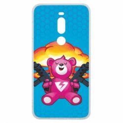 Чехол для Meizu V8 Pro Fortnite pink bear - FatLine