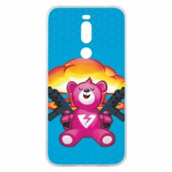 Чехол для Meizu X8 Fortnite pink bear - FatLine