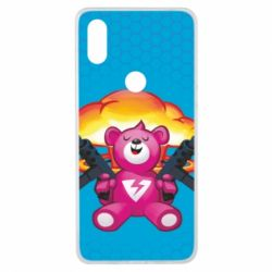 Чехол для Xiaomi Mi Mix 3 Fortnite pink bear - FatLine