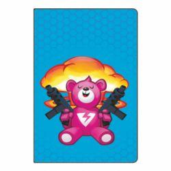Блокнот А5 Fortnite pink bear - FatLine