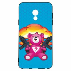 Чехол для Meizu 15 Lite Fortnite pink bear - FatLine