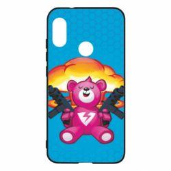 Чехол для Mi A2 Lite Fortnite pink bear - FatLine