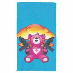 Полотенце Fortnite pink bear - FatLine