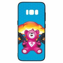 Чехол для Samsung S8 Fortnite pink bear - FatLine
