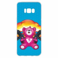 Чехол для Samsung S8+ Fortnite pink bear - FatLine