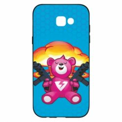 Чехол для Samsung A7 2017 Fortnite pink bear - FatLine