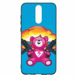 Чехол для Huawei Mate 10 Lite Fortnite pink bear - FatLine