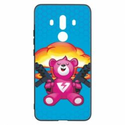 Чехол для Huawei Mate 10 Pro Fortnite pink bear - FatLine