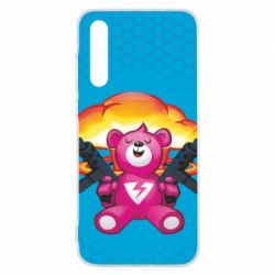 Чехол для Huawei P20 Pro Fortnite pink bear - FatLine