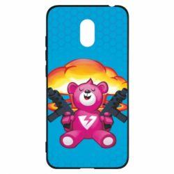 Чехол для Meizu M6 Fortnite pink bear - FatLine