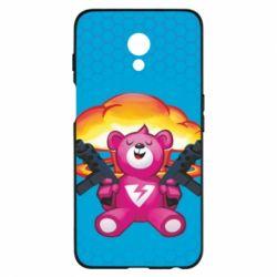 Чехол для Meizu M6s Fortnite pink bear - FatLine