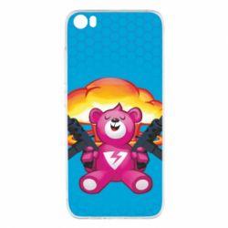 Чехол для Xiaomi Xiaomi Mi5/Mi5 Pro Fortnite pink bear - FatLine