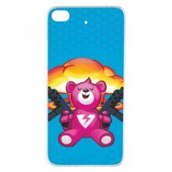 Чехол для Xiaomi Mi 5s Fortnite pink bear - FatLine