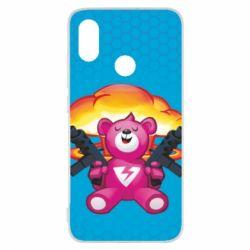 Чехол для Xiaomi Mi8 Fortnite pink bear - FatLine