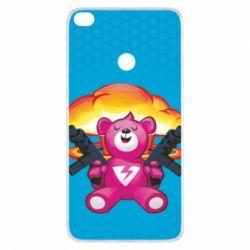 Чехол для Xiaomi Mi Max 2 Fortnite pink bear - FatLine
